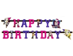 "Гирлянда-буквы ""Happy Birthday!"" Monster High 180 см"