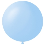 "Шар 24"" (61см) Пастель LIGHT BLUE 002"
